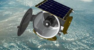 Un satellite sur orbite