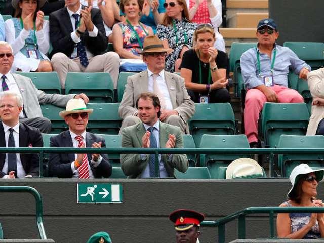 Huitièmes de finale à Wimbledon