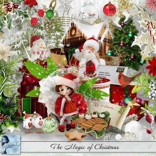 The Magic of Christmas de Louise