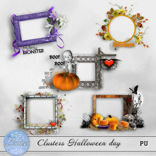 Clusters Halloween Day