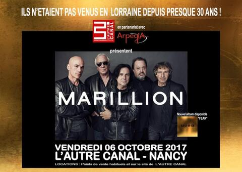 MARILLION - Nancy - 06/10/2017