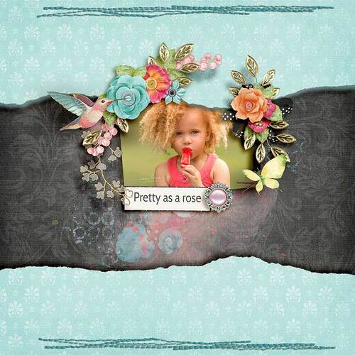 Beauty In Bloom by dentelle scrap