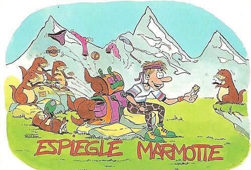 marmottes espiègles edited - Carte de Margoton