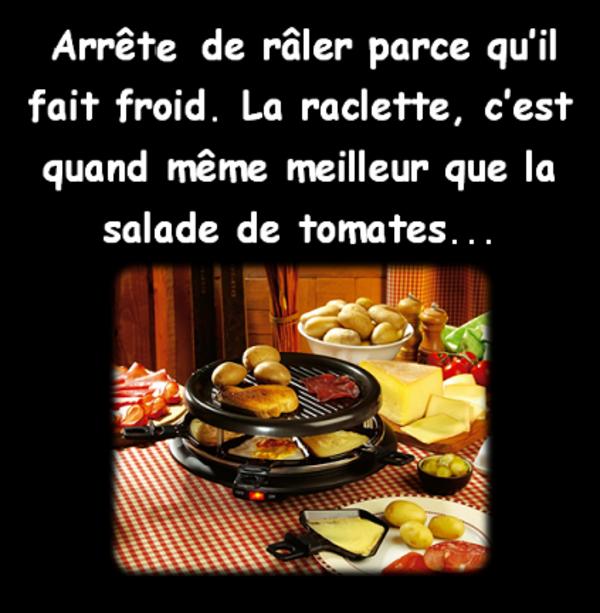 La saison de la raclette