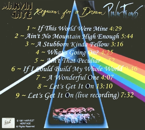 """Marvin Gaye & Pink Floyd : Mp3 """" Requiem For A Dream The Unreleased Album """" Harvest Heritage Records  www.illpoetic.com [ US ] le 24 Décembre 2010"""