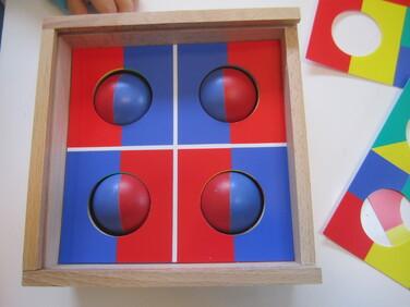 Défi Roulé-boulé 4 couleurs