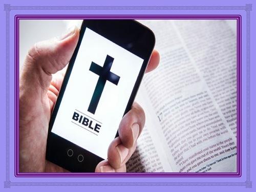 La Bible et le téléphone portable.