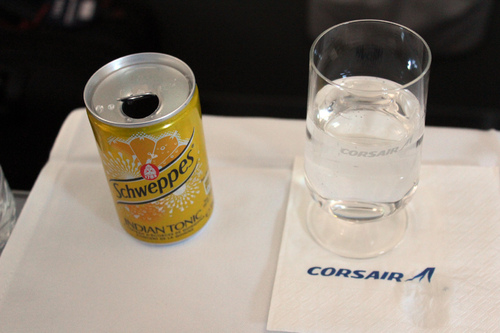 Corsair grand Large (Business class) Fort-de-France - Paris