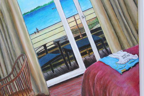 N° 2 - Intérieur balcon sur la mer