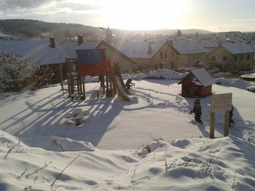Notre dernière journée de la semaine sous la neige