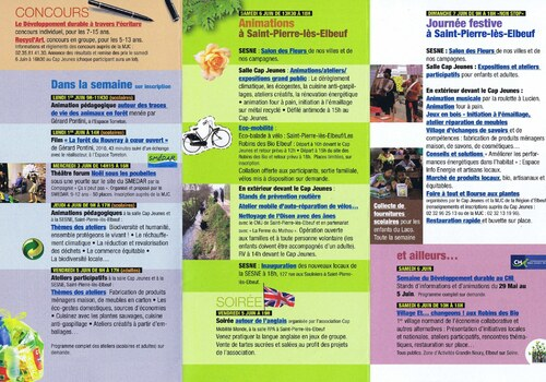 Programme - Semaine du Développement durable