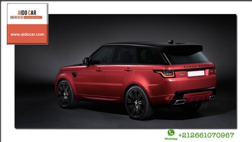 Réservez à Casablanca votre Range Rover Sport Dynamic chez Aido Car