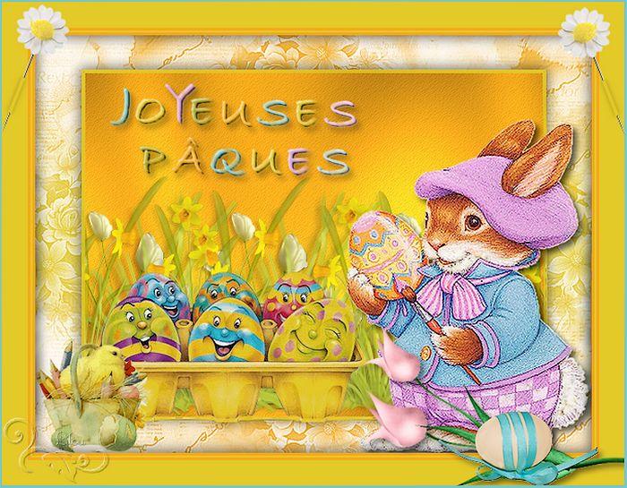 Pâques gourmands