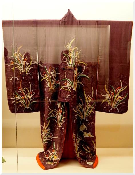 Kimonos au Musée Guimet