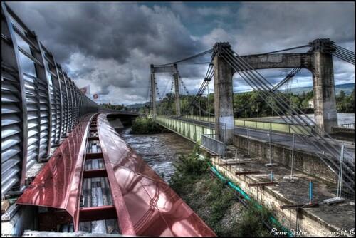 Petuis (ancien et nouveau pont 2014)
