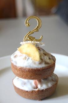 Gâteau d'anniversaire pomme-cannelle pour 4 pattes !