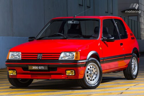 Peugeot 205 GTI, Young Timer!