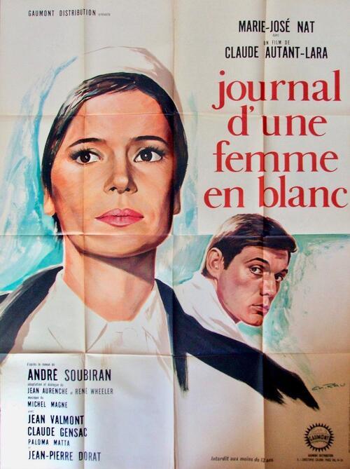 LE JOURNAL D'UNE FEMME EN BLANC BOX OFFICE FRANCE 1965