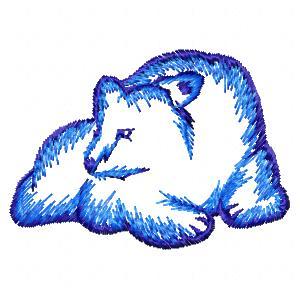 des ours mais pas que ..(broderie machine)