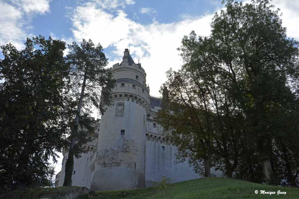 Château de Pierrefonds (60) en angle