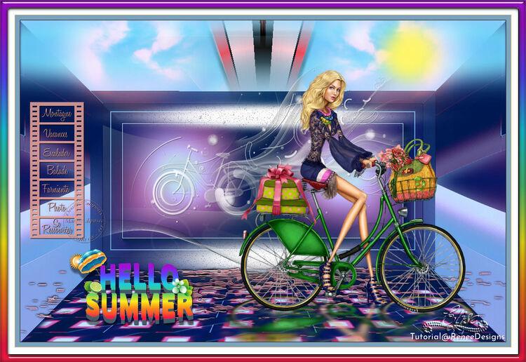 Hello Summer de Renéegraphisme