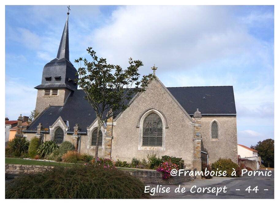 Eglise de corsept ( extérieur )