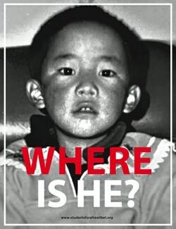 Manifestation : Liberté pour le Panchen Lama : 25 Avril 2013