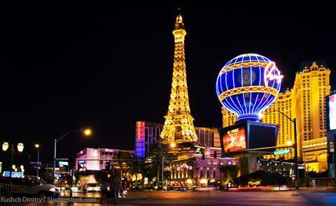"""La """"Tour Eiffel"""" de Las Vegas"""