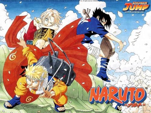 Naruto, Sakura et Sasuke