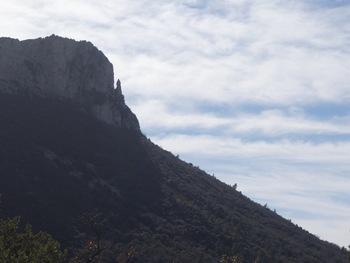 La falaise du Mont Aurélien