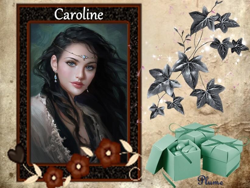 Caroline une artiste de renommée