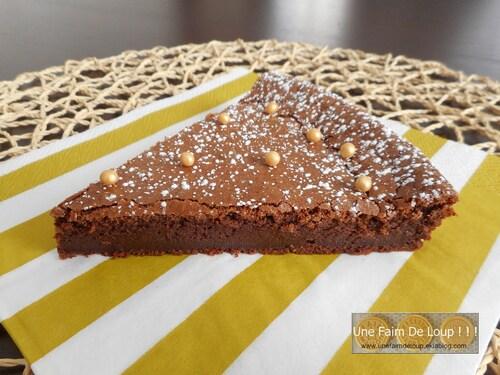 Gâteau fondant au chocolat sans matière grasse
