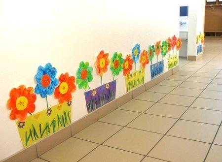 Idée Pinterest : le printemps s'affiche dans le couloir.