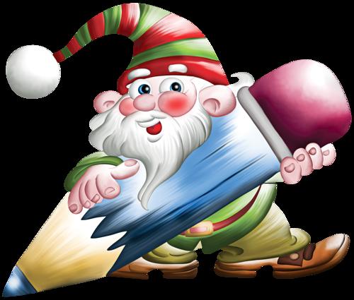 Petits Personnages de Noël Série 1   ♥