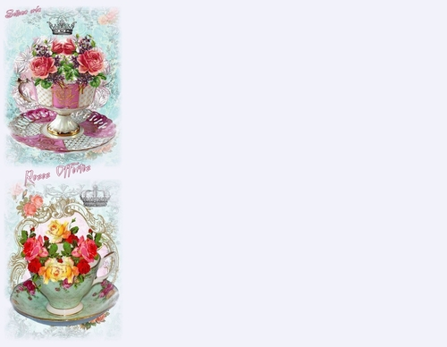 Papier à lettres **Roses offerte**