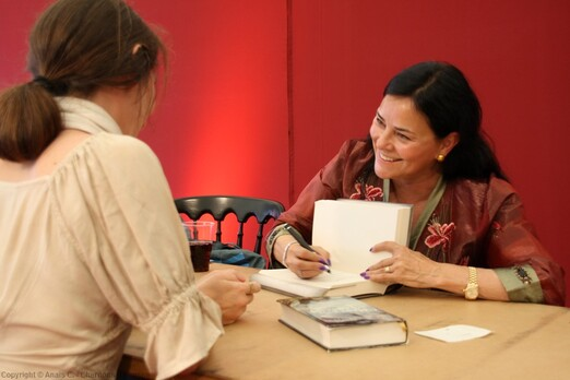 "Diana Gabaldon au ""Edinburgh International Book Festival 2014"""