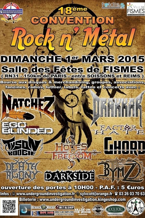 CONVENTION ROCK'N'METAL 2015