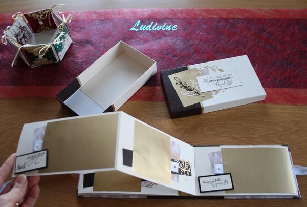 Mini-album de Noël et sa boite ... -5