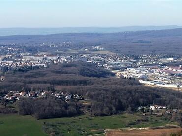 Montfaucon - Belvédère et point de vue sur Besançon