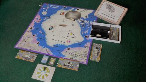 Le pôle nord d'Amundsen