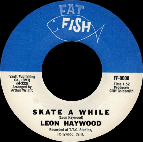 "Leon Haywood : Album "" Soul Cargo "" Fat Fish Records LP 2525 [ US ]"