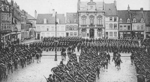 15 novembre 1914 : Calais fête le roi des Belges, Albert 1er