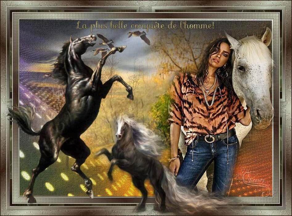 Défi 62:Love Horse