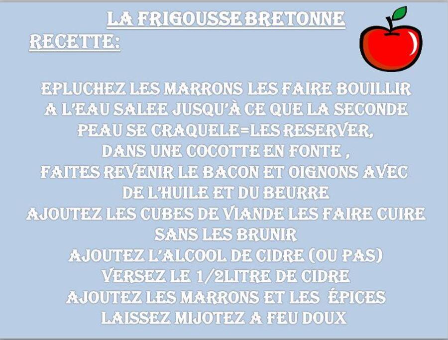 LA FRIGOUSSE BRETONNE