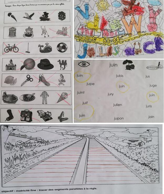 Les devoirs de Lucas Miller...