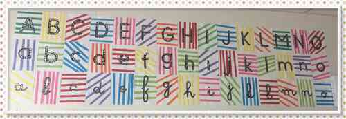 L'alphabet des trois écritures
