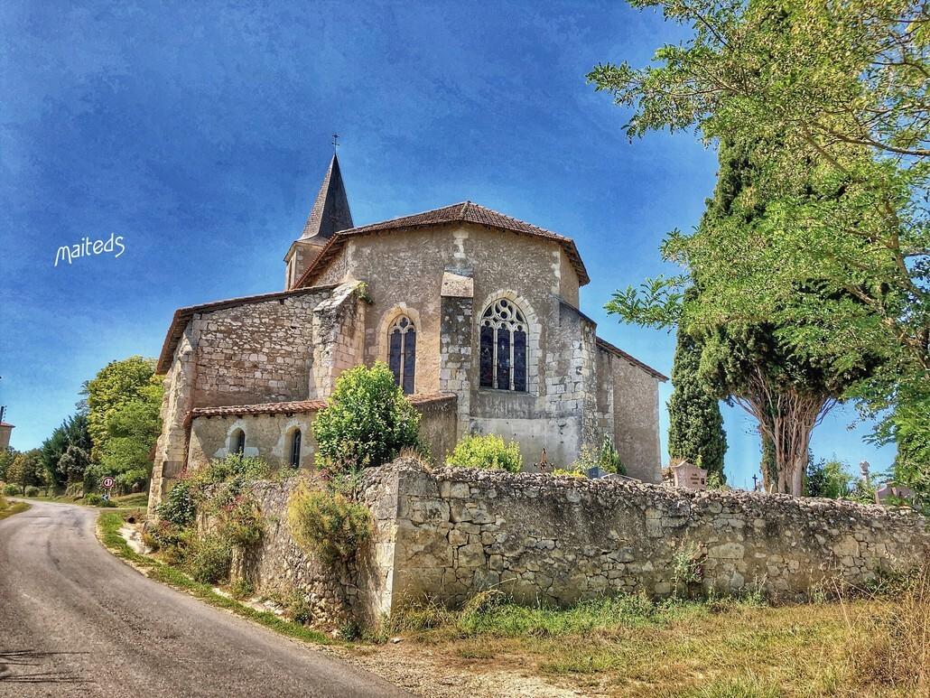 Eglise Saint-Clair - Bezolles - Gers