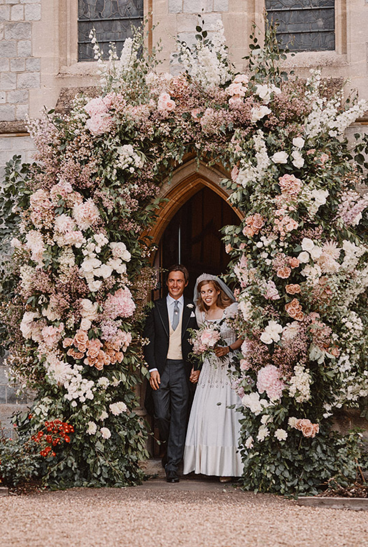 Mariage de Beatrice d'York et Edoardo Mapelle