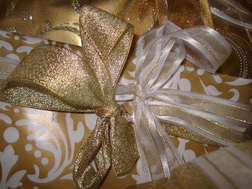 Tout devient Or : des cadeaux dorés