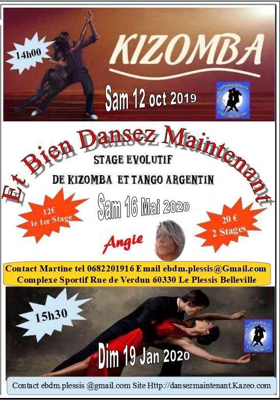 Stage Kizomba Tango Argentin